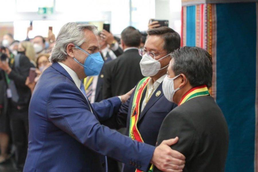 """Alberto Fernández: """"Es un día muy importante, Bolivia recupera la democracia"""""""