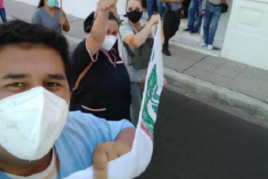 Protesta sanitaria en pandemia: habrá marcha simultánea de enfermeros correntinos