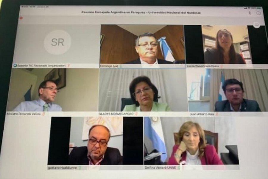 Embajador resalta el aporte de la UNNE en la cooperación e integración entre Argentina y Paraguay