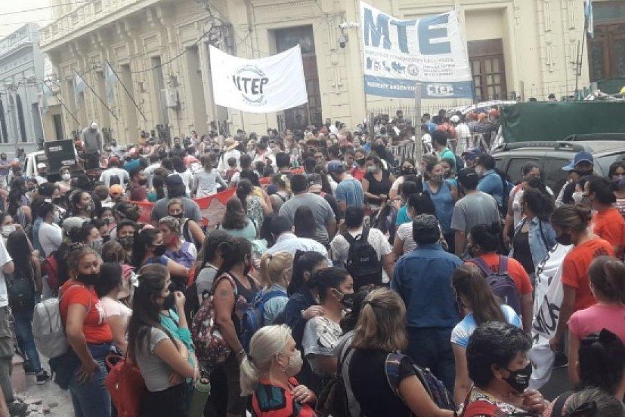Organizaciones sociales reclamaron al Gobierno por obras de urbanización