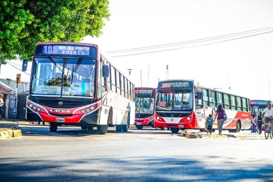Anunciaron un paro de transporte urbano por tiempo indeterminado