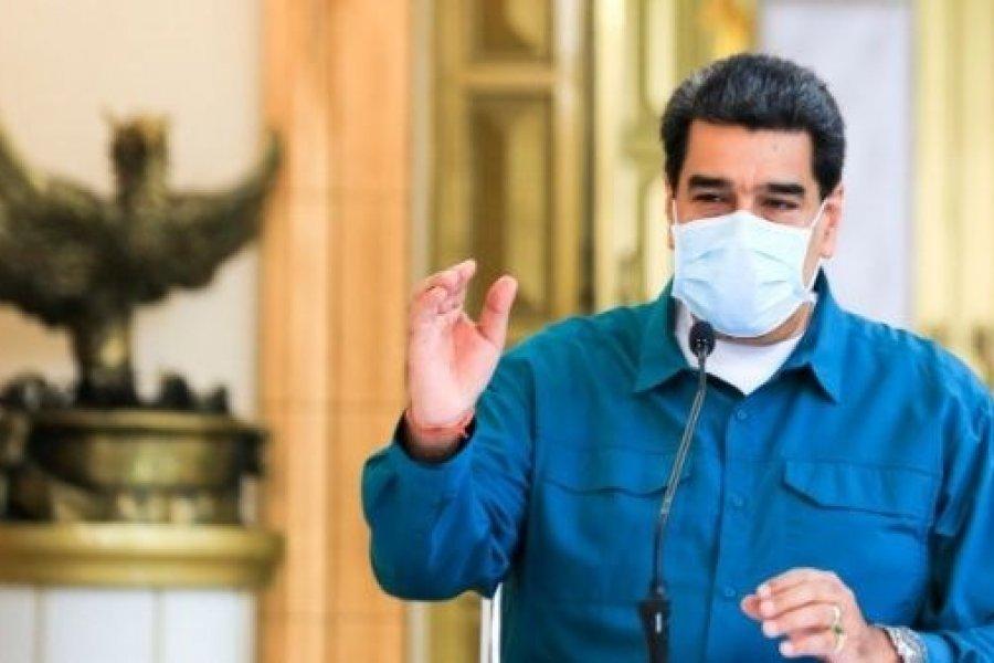 """Nicolás Maduro: """"Alberto Fernández es un valiente presidente"""""""