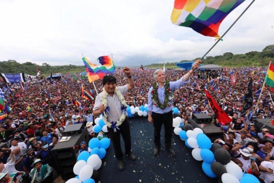 """Evo Morales: """"Vamos a devolverle la dignidad y la soberanía al pueblo boliviano"""""""