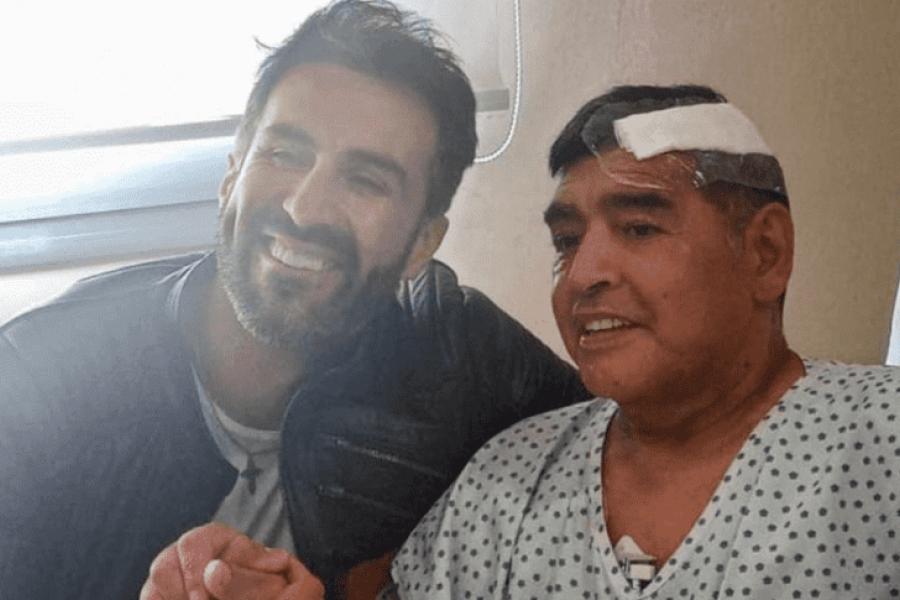Diego Maradona dejó la clínica y ya está en su nueva casa