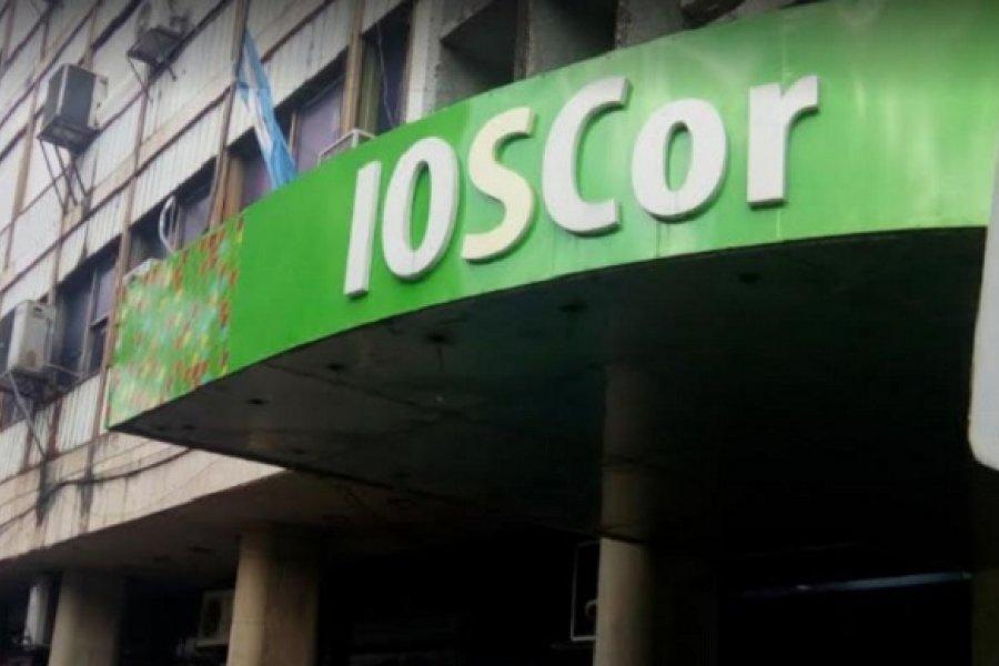 Covid: IOSCOR nuevamente cerrado por un positivo y desinfección