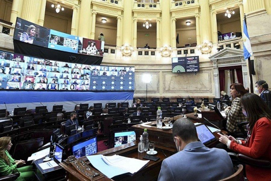 El Senado debatirá el Presupuesto 2021 en el marco de una sesión especial