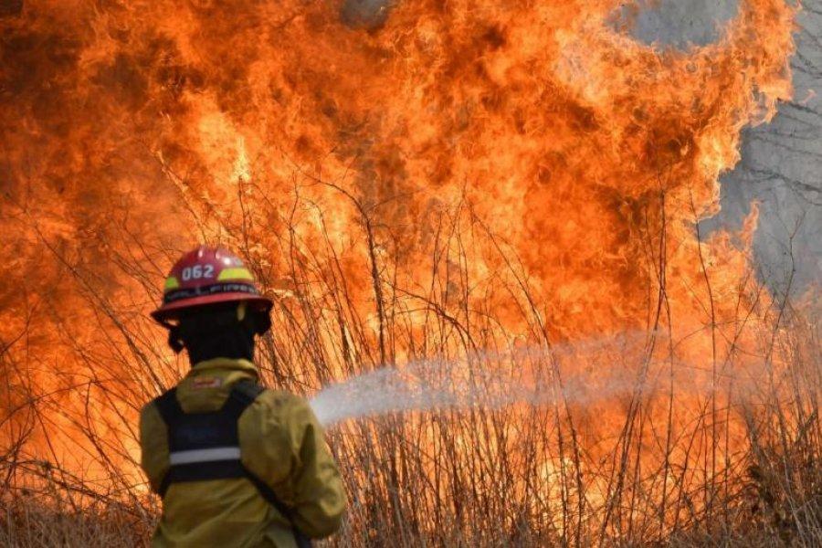 Jujuy, La Rioja, Salta y Córdoba continúan afectadas por incendios forestales