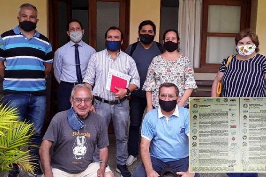 20 sindicatos y organizaciones iniciaron plan de acción para demandar normalización de servicios del IOSCOR