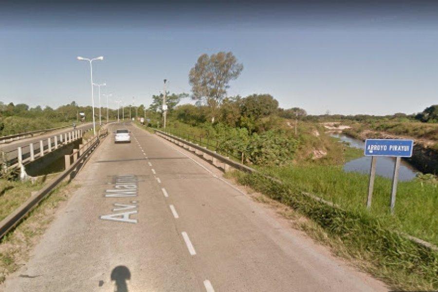 Un joven murió ahogado en un arroyo por Ruta 12