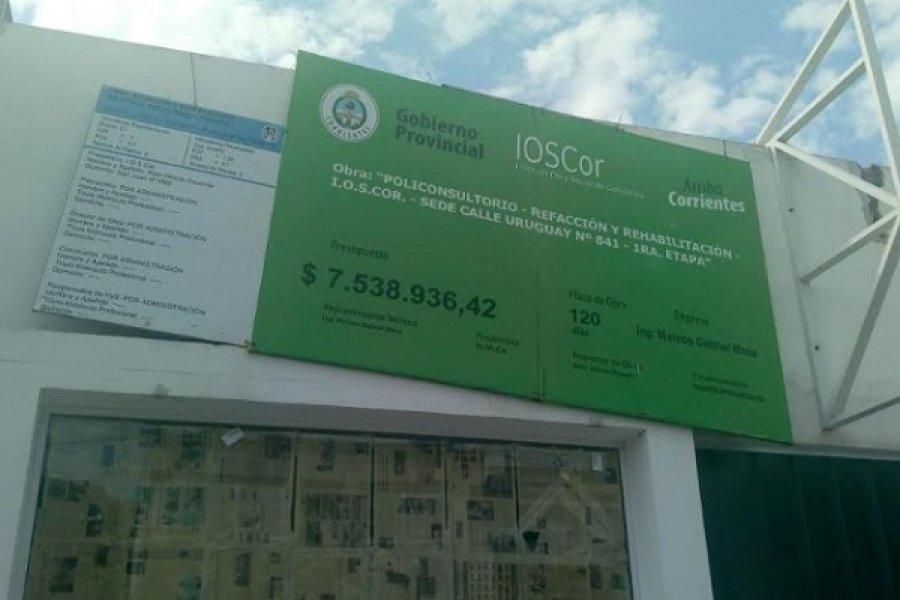 IOSCOR: Dos años de retraso en construcción de policonsultorios
