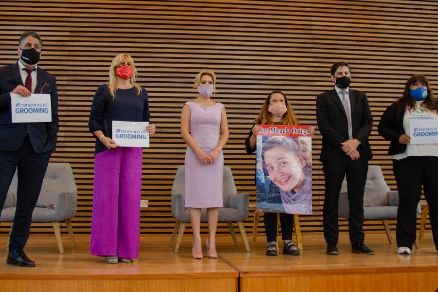 Presentaron la Campaña Nacional de Concientización y Prevención contra el Grooming