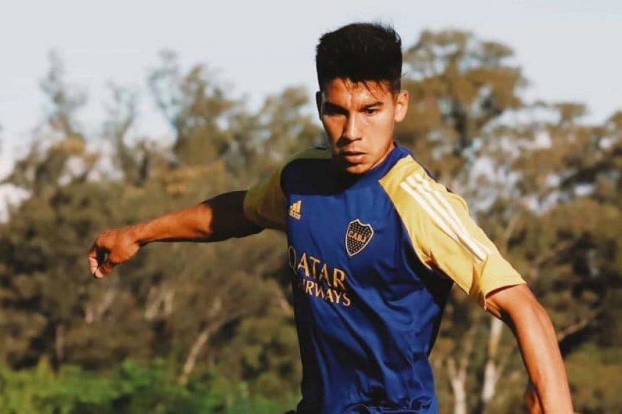 Pol Fernández empieza a despedirse de Boca: se entrenó aparte y no concentrará