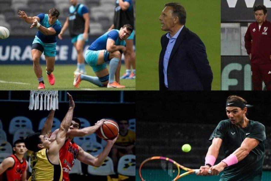 La agenda deportiva del fin de semana