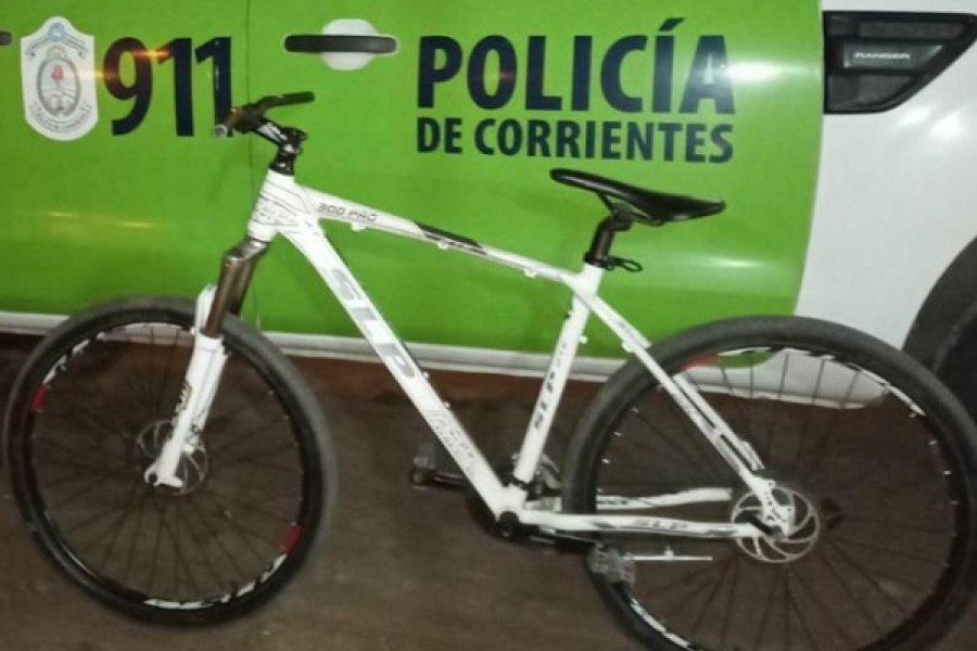Recuperaron bicicleta que un ladrón ya había vendido