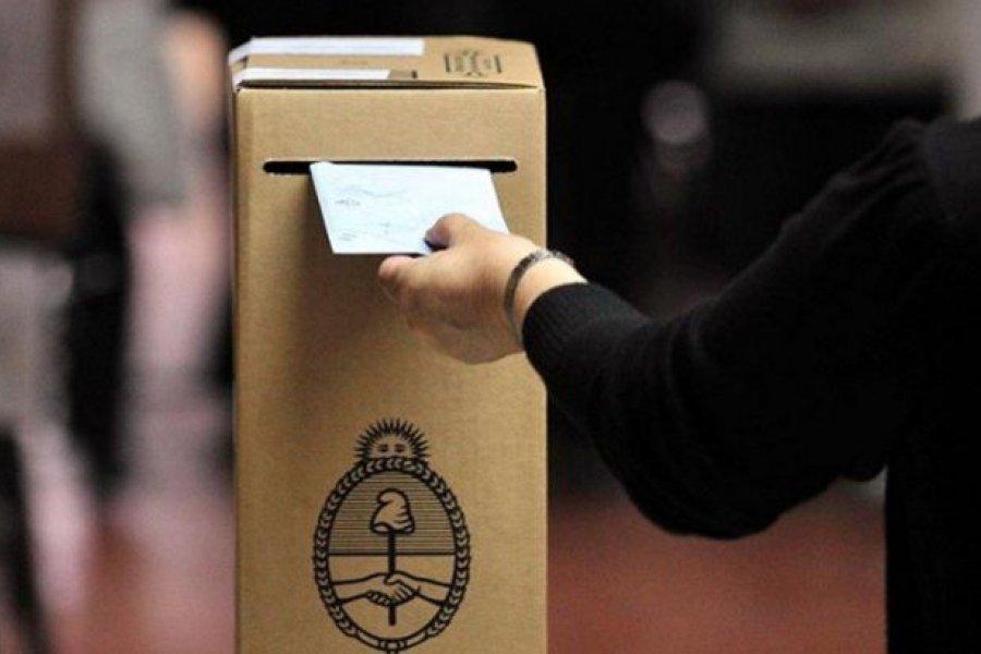 Desde este domingo se podrá consultar el padrón provisorio para las elecciones de 2021