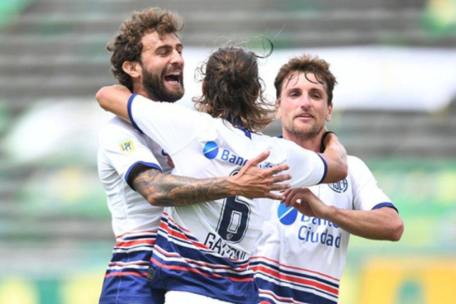 San Lorenzo goleó a Aldosivi y es el único líder de la Zona 5