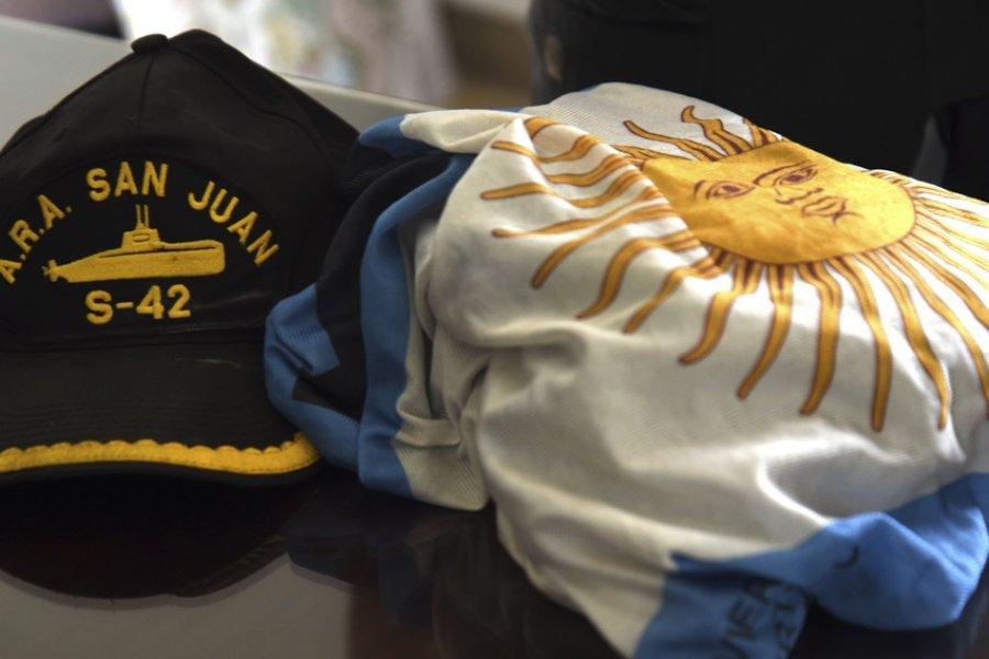 Homenaje a los tripulantes del ARA San Juan en Mar del Plata