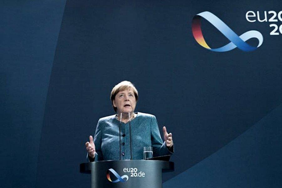 """Merkel alertó que el coronavirus """"dominará"""" la vida por mucho tiempo"""