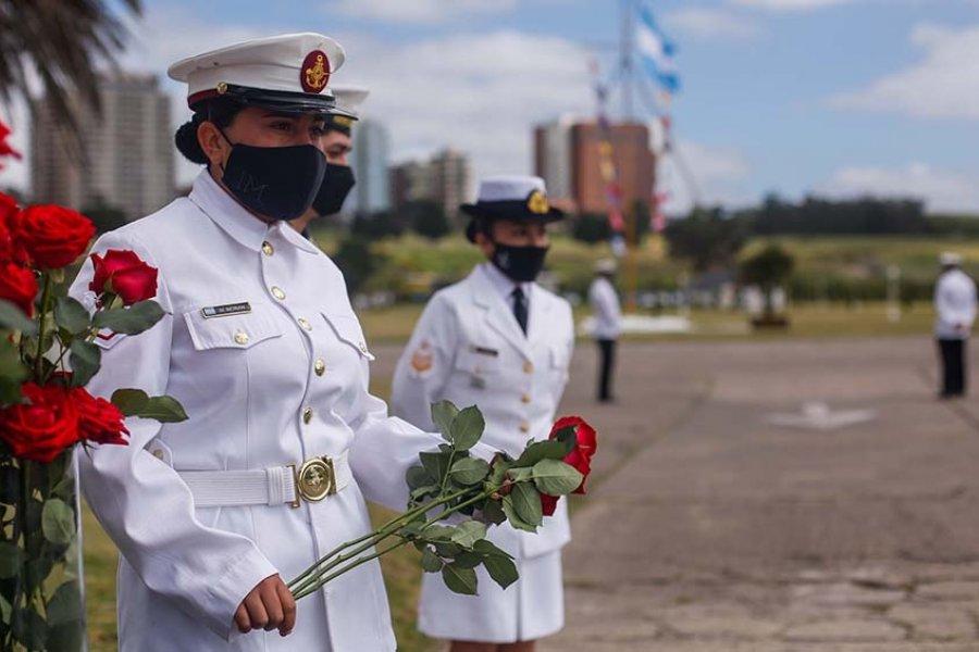 Homenajearon a los 44 tripulantes del ARA San Juan