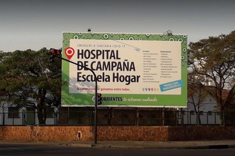 Darán una conferencia sobre la situación del Hospital de Campaña de Corrientes