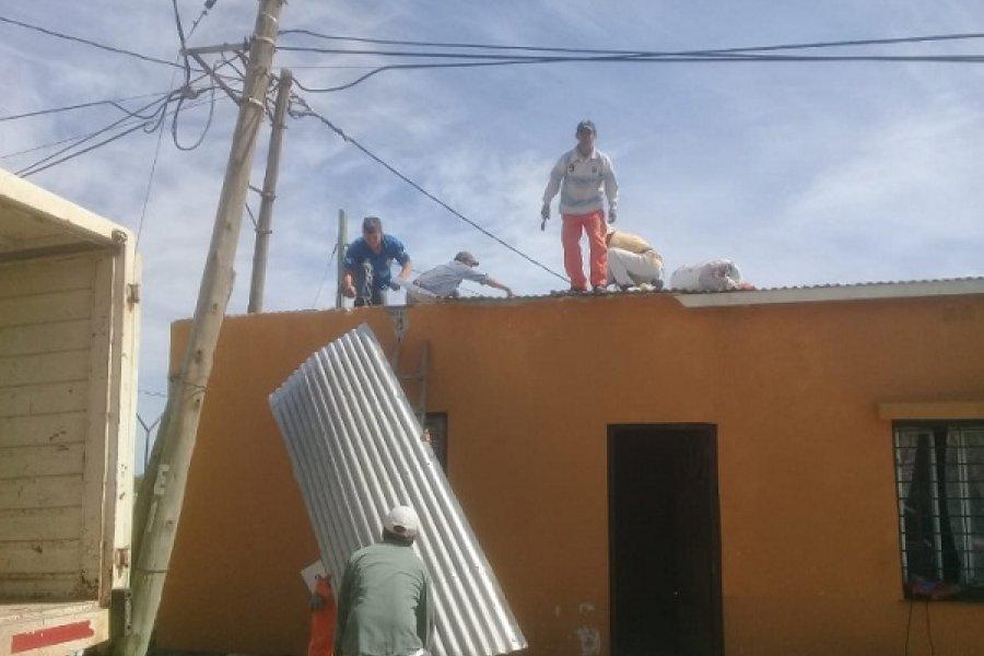 Mercedes: Inmediata respuesta del Municipio ante los daños causado por la tormenta