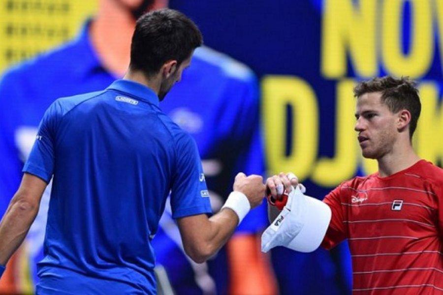 Schwartzman cayó ante Djokovic en su debut en el Masters de Londres