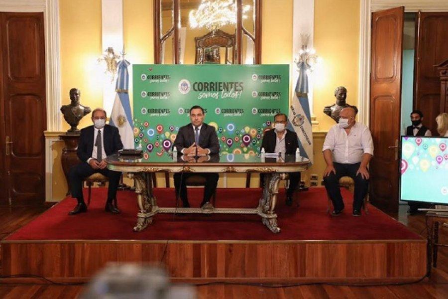 Alarma en el gabinete: Vignolo antes de aislarse participó de los anuncios de Fase 3 de Valdés
