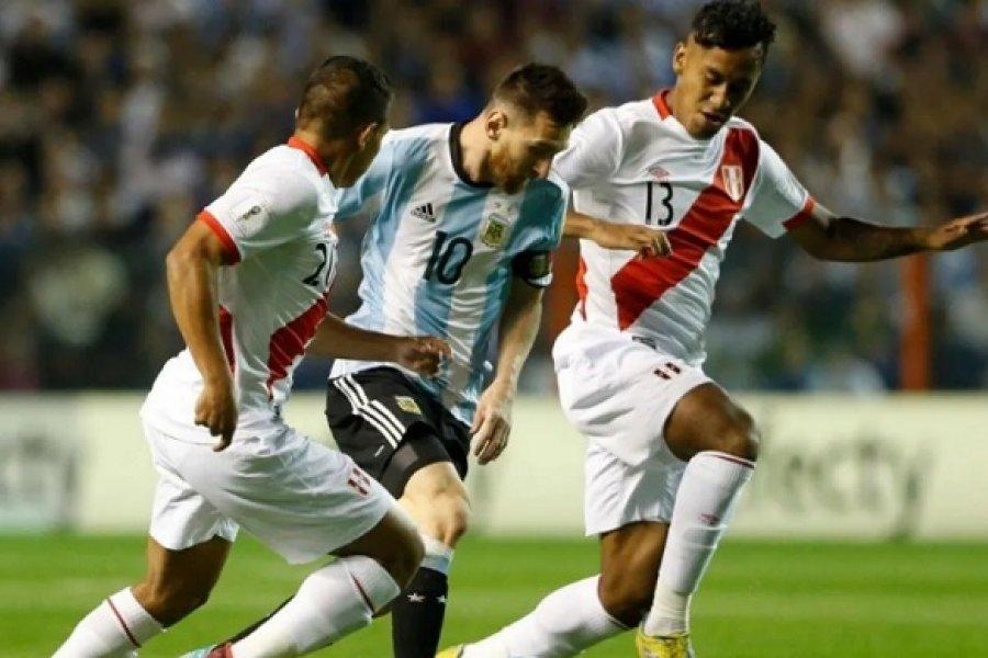 La Selección Argentina visita este martes a Perú