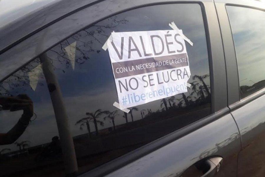 Revés a la administración Valdés: Dictan habeas corpus colectivo para libre tránsito sobre el puente interprovincial