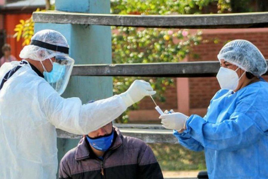 Chaco: Notificaron 6 muertes y un nuevo récord de contagios diarios de Covid