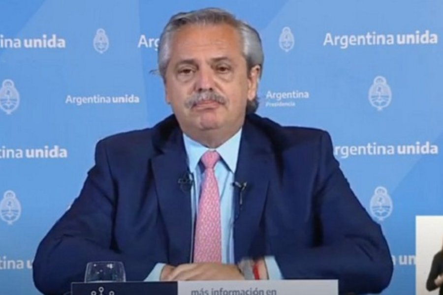 Alberto Fernández aclaró que recién en marzo va a poder suministrarse la primera vacuna fabricada entre la Argentina y México
