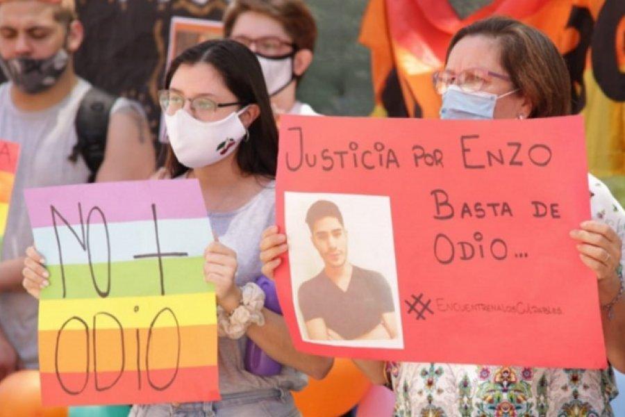 Crimen de Enzo Aguirre: Familiares y amigos marcharon para pedir justicia