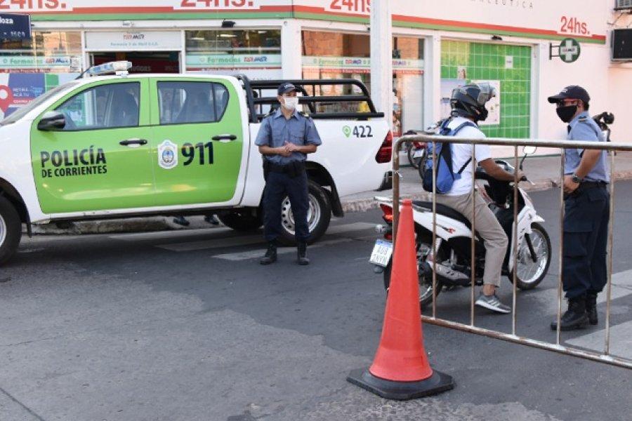 Más de 20 policías se encuentran aislados por Covid en Corrientes