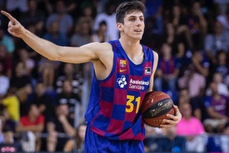 Otro argentino a la NBA: Leandro Bolmaro fue elegido en el draft y jugará en Minnesota
