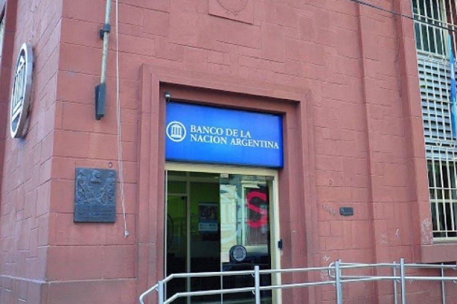 Detectaron casos de Covid en empleados del Banco Nación
