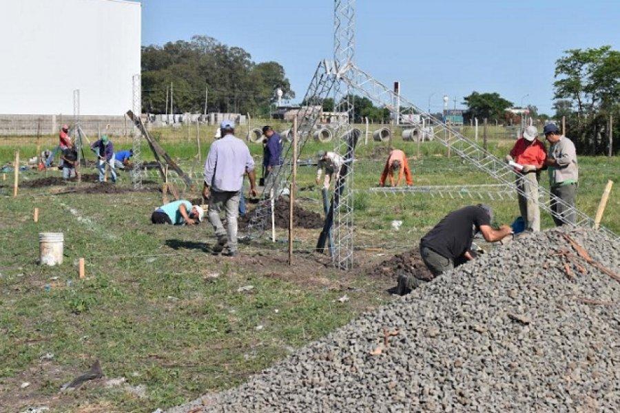 Comenzó la construcción de diez viviendas en Curuzú Cuatiá