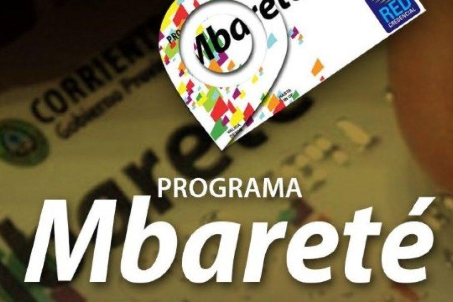 Desde este viernes se encuentran habilitadas las tarjetas Mbareté y Mamá Mbareté