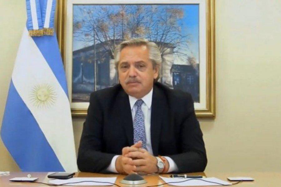 Alberto Fernández anunciará cómo siguen las medidas sanitarias