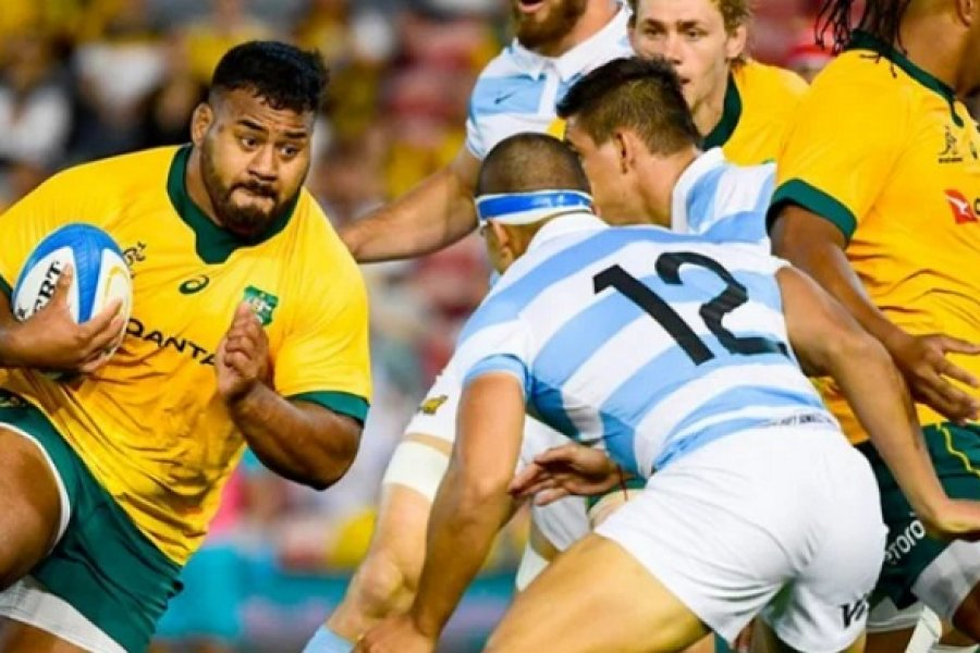 Los Pumas jugaron otro gran partido y empataron ante Australia