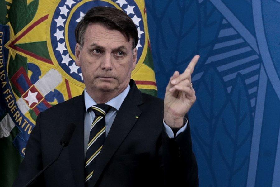 Increparon a Bolsonaro en la calle por críticas a los manifestantes por la igualdad racial