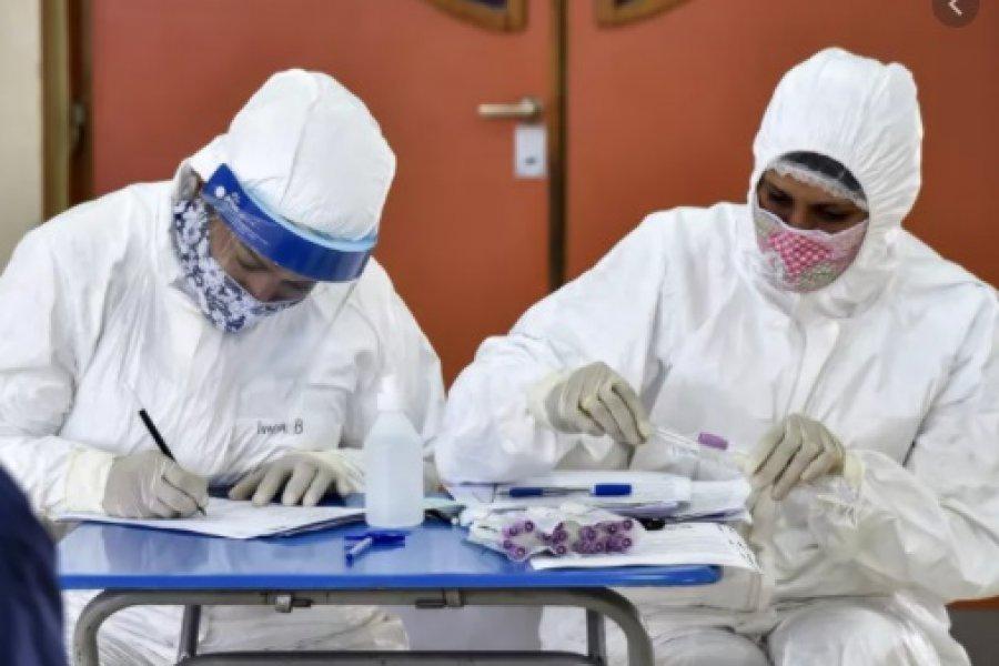 Más de 50 trabajadores de la salud de Corrientes se infectaron de Coronavirus