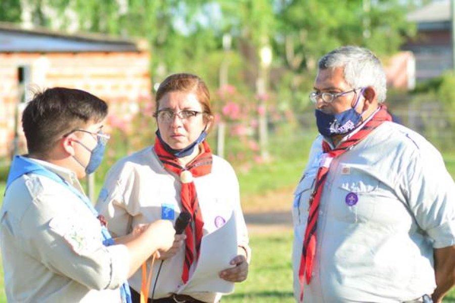 Reconocimiento al Espíritu Scout en la ciudad de Mercedes