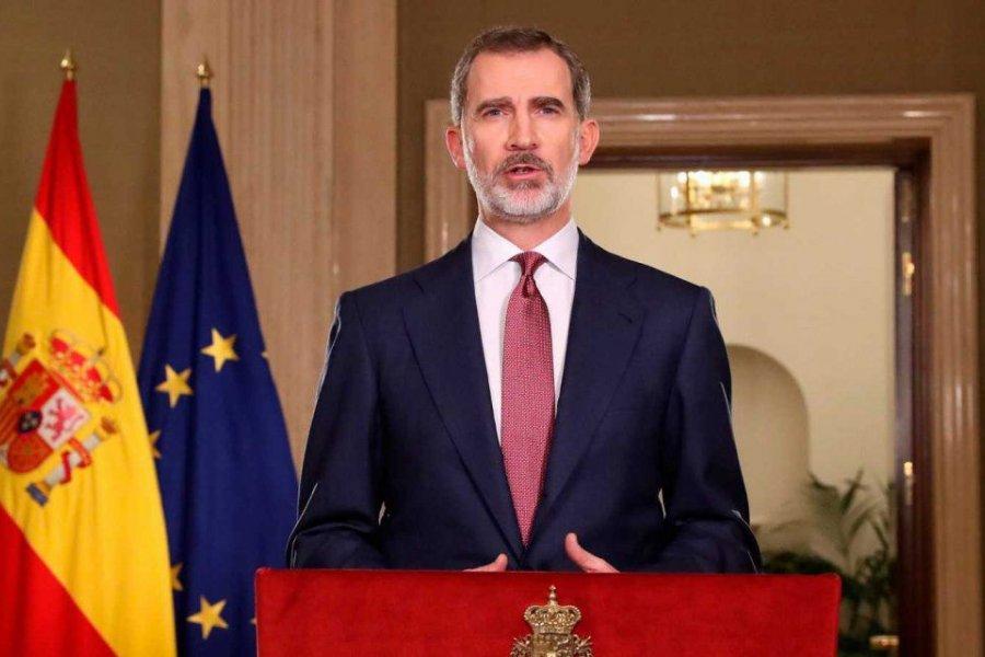 El Rey de España, en aislamiento tras estar en contacto con un caso de coronavirus