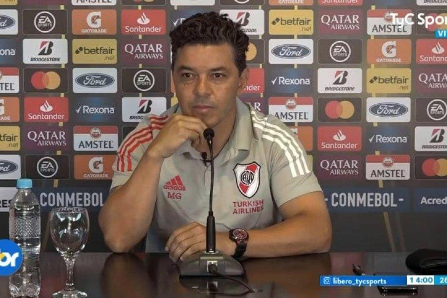 Gallardo criticó al fútbol argentino y aseguró que cuando quiera irse lo hará saber