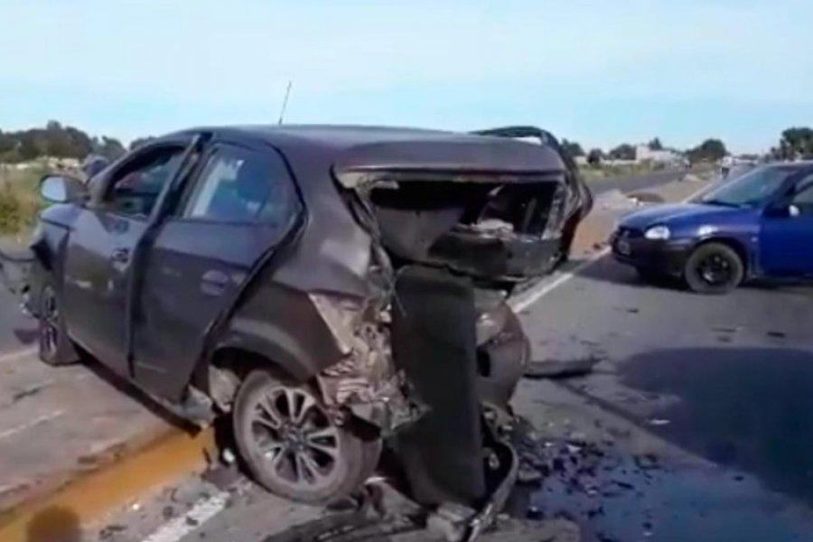 Investigan si un joven fue asesinado a golpes tras un triple choque en Alejandro Korn
