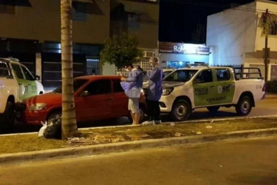 Policía con Covid fue perseguido y detenido por violencia de género