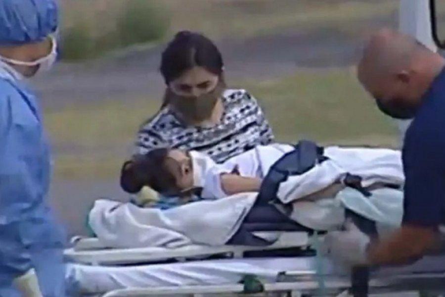 Abigail ya se encuentra en Buenos Aires y será internada en el Hospital Austral
