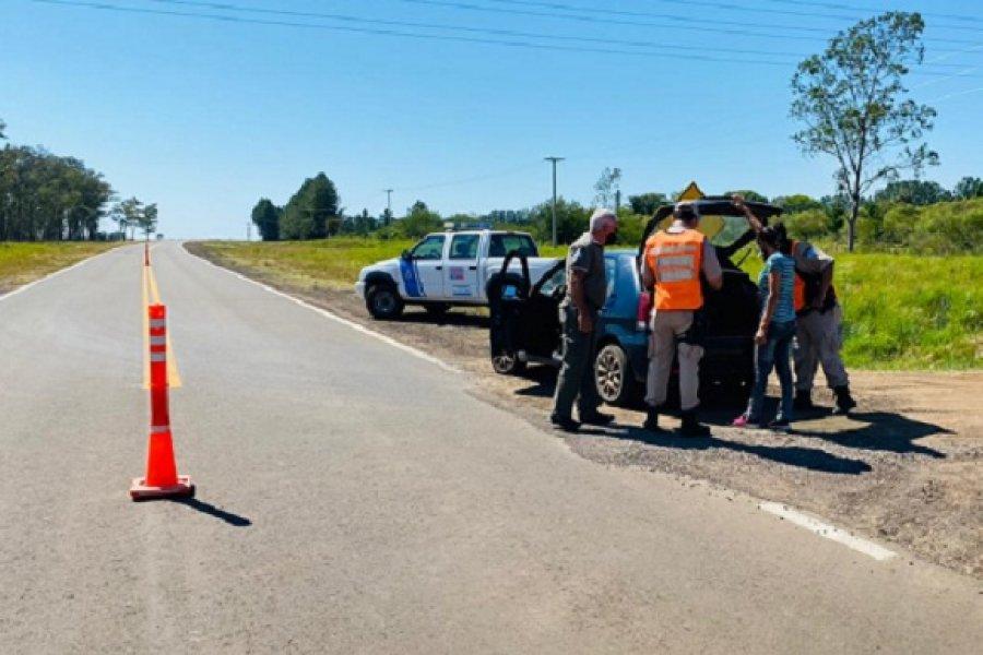 Agentes de Recursos Naturales despliegan intenso control provincial
