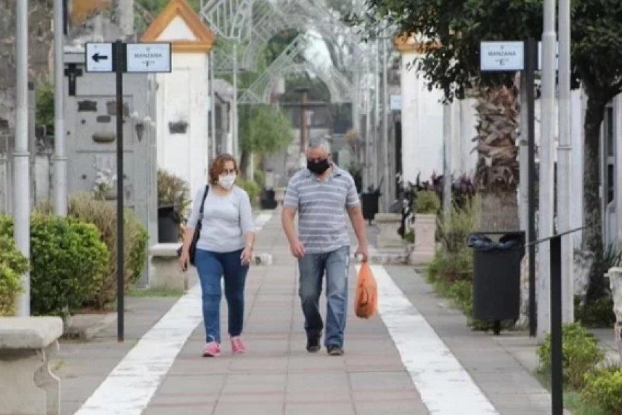 Los cementerios municipales permanecerán cerrados