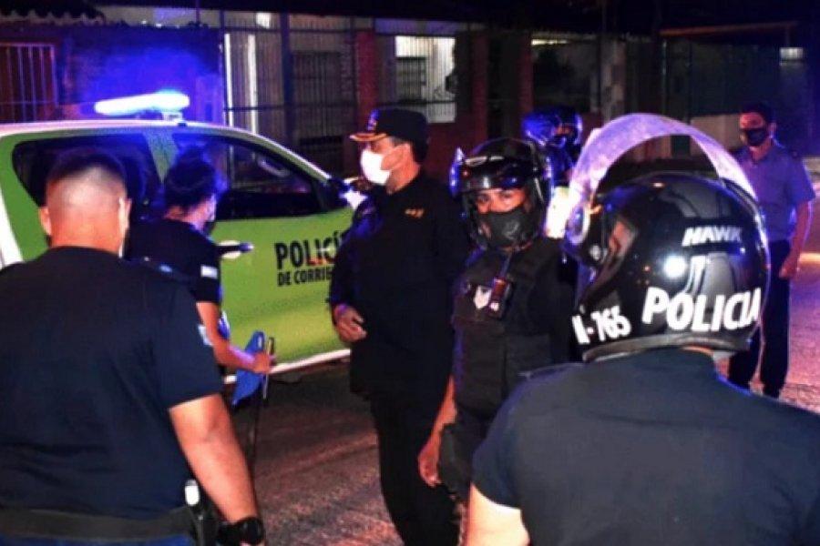 La Policía desactivó otra fiesta clandestina en Ituzaingó: 12 demorados